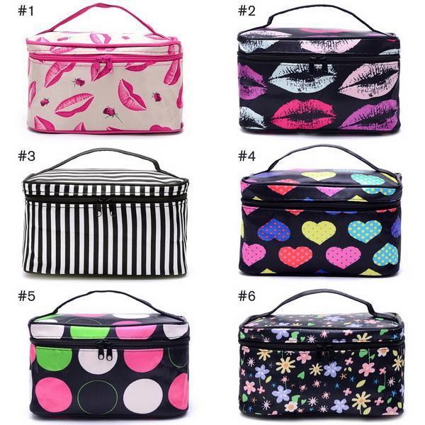 Cosmetic Bag makeup Organizer Holder Handbag 3