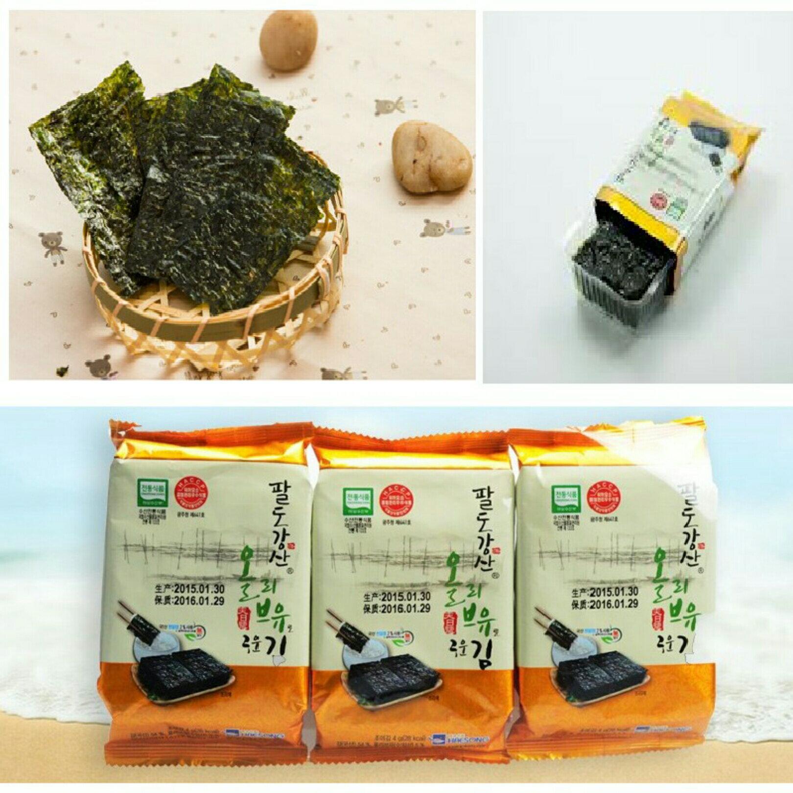 有樂町進口食品 韓國原裝進口海苔(12入) 8809094844406 - 限時優惠好康折扣