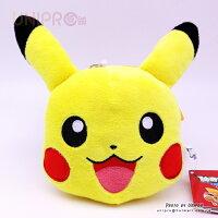 寶可夢餐具用品推薦到【UNIPRO】神奇寶貝 XY 皮卡丘 Pikachu  絨毛 拉扣 伸縮 票卡套 零錢包 萬用包  正版授權 寶可夢 Pokemon Go就在UNIPRO優鋪推薦寶可夢餐具用品