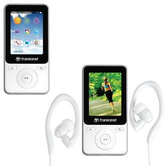 【DB購物】創見 TRANSCEND MP710(TS8GMP710W) MP3音樂行動碟8G 白 計步器功能 耳掛耳機(請詢問貨源)