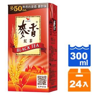 統一 麥香紅茶 300ml  24入   箱