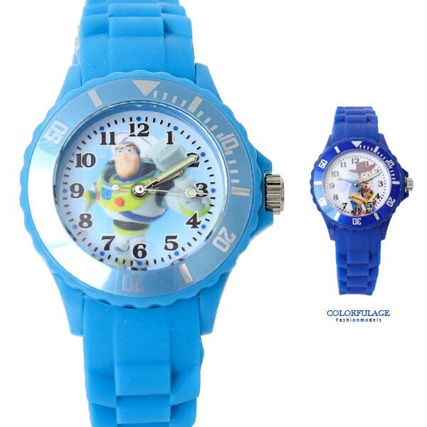 迪士尼玩具總動員矽膠童錶【NE2026】柒彩年代