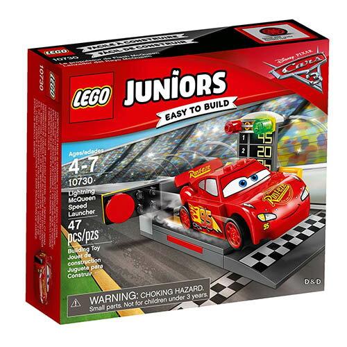 樂高積木 LEGO《 LT10730 》2017 年 Junior 系列 -閃電麥坤的發射器