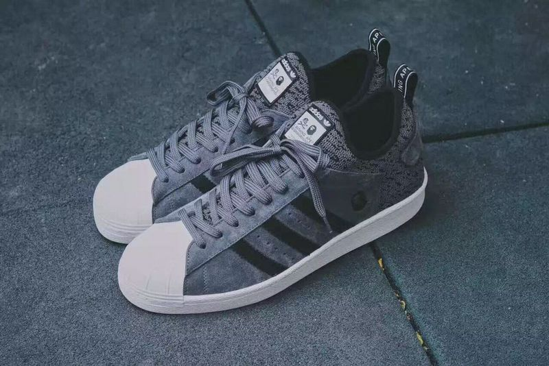 A BATHING APE x NEIGHBORHOOD x ADIDAS Originals 三方聯名新作 情侶款