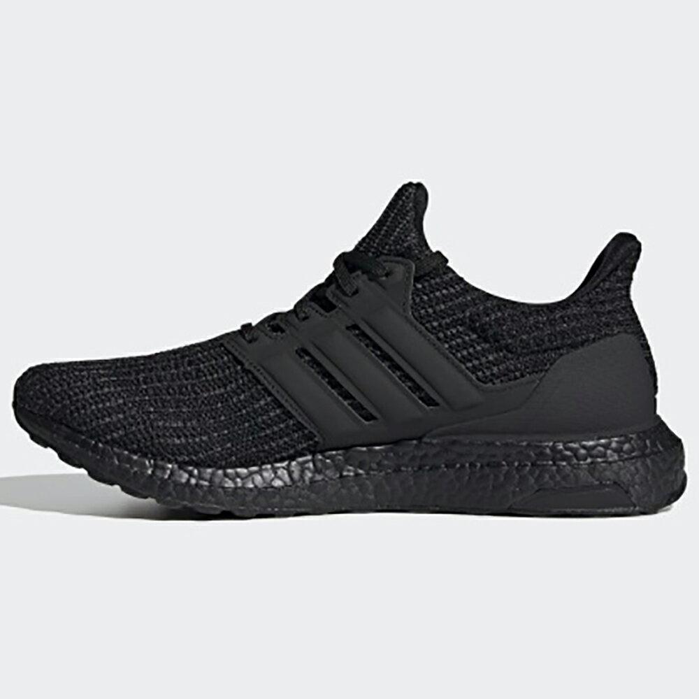 【全館滿額88折】Adidas Ultraboost 4.0 DNA 男鞋 女鞋 慢跑 襪套 避震 針織 透氣 輕量 全黑【運動世界】FY9121