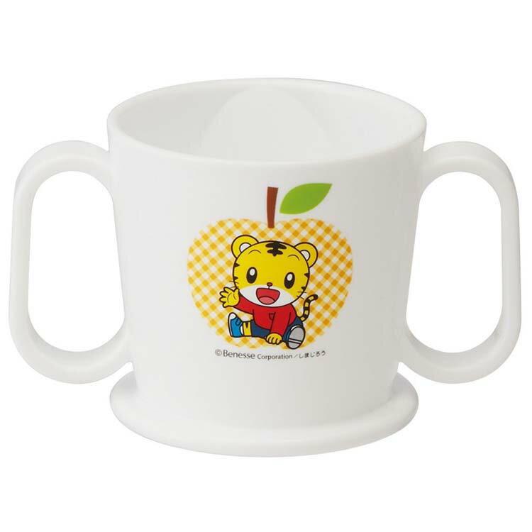 SKATER 日本製可愛巧虎島 兩手練習杯 水杯嬰兒用品巧連智雙耳杯方便飲設計 日本進口正版 344527
