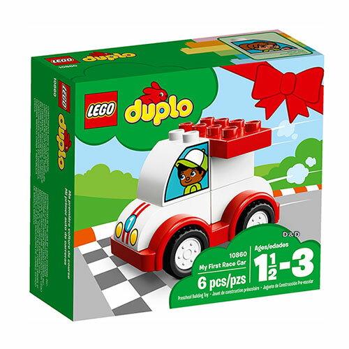 樂高積木 LEGO《 LT10860 》2018 年 Duplo 得寶系列 - My First Race Car