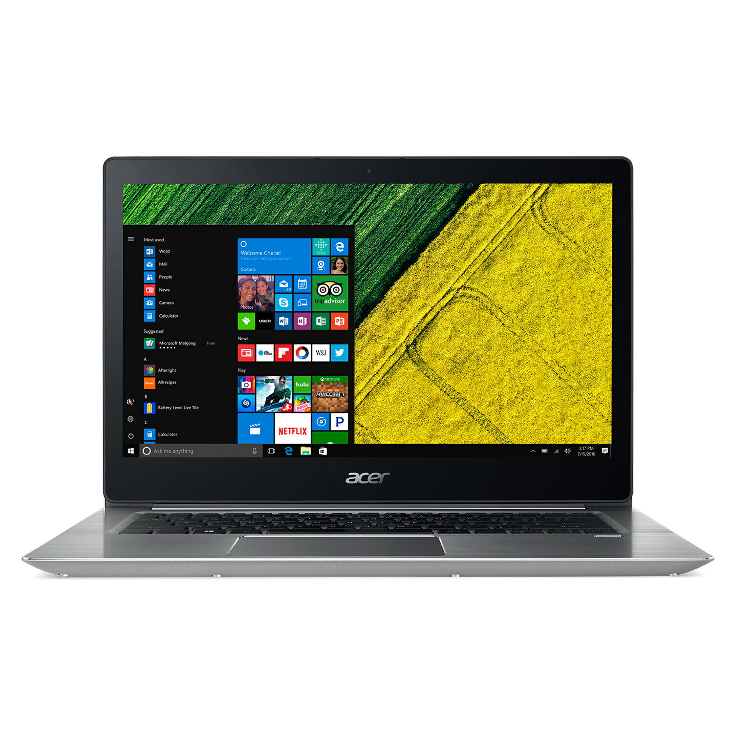 "Acer 15.6"" Intel Core i5 1.60 GHz 8 GB Ram 256GB SSD Windows 10H