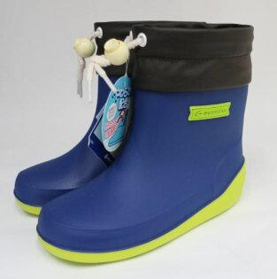 陽光運動館:Moonstar月星日本製輕量可折束口止滑耐磨機能童鞋高筒雨鞋水鞋MSRBB025(藍)[陽光樂活]