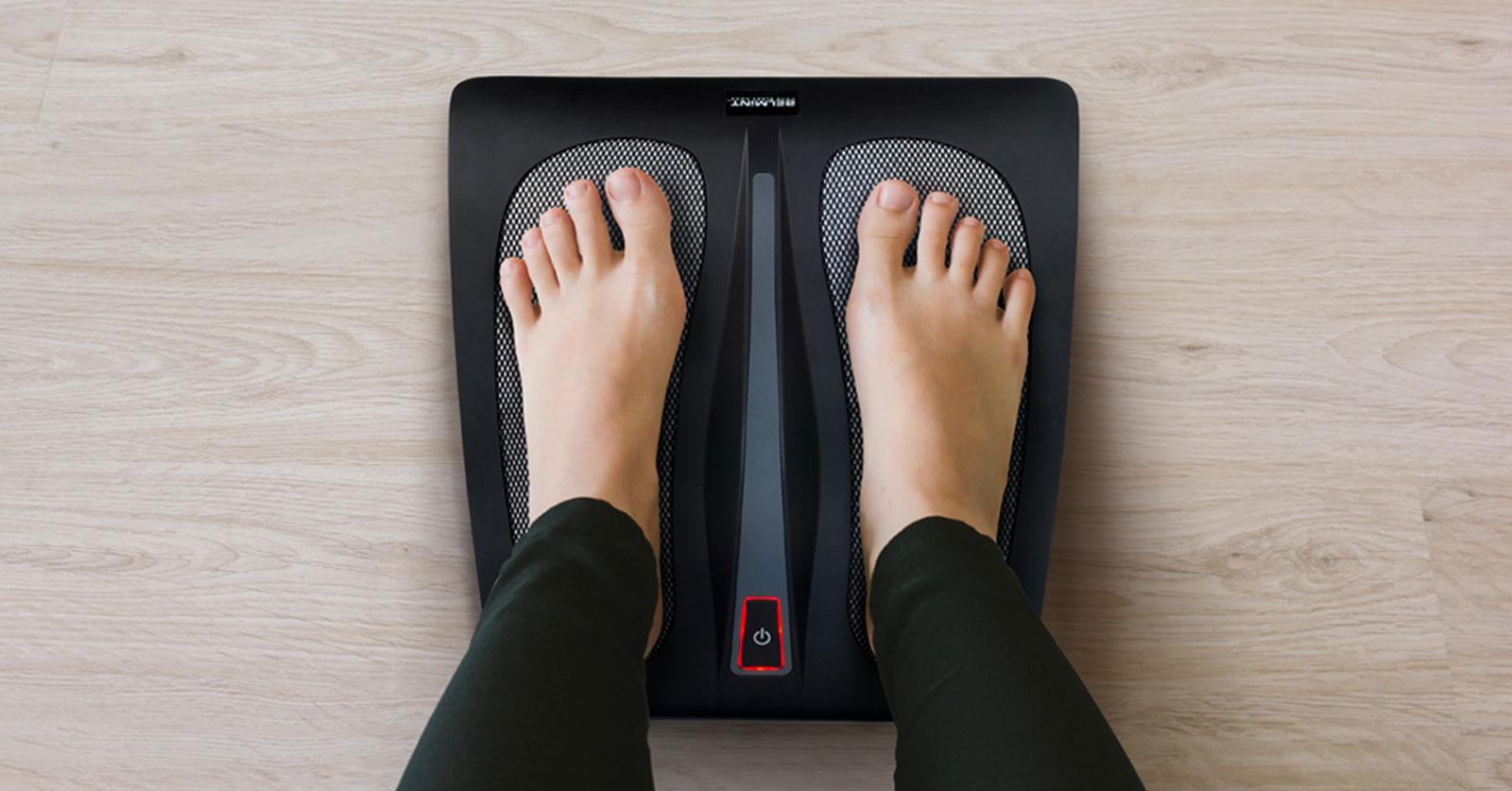 Belmint Shiatsu Foot Massager w/ Built-In Heat Function - Deep Kneading Therapy 2