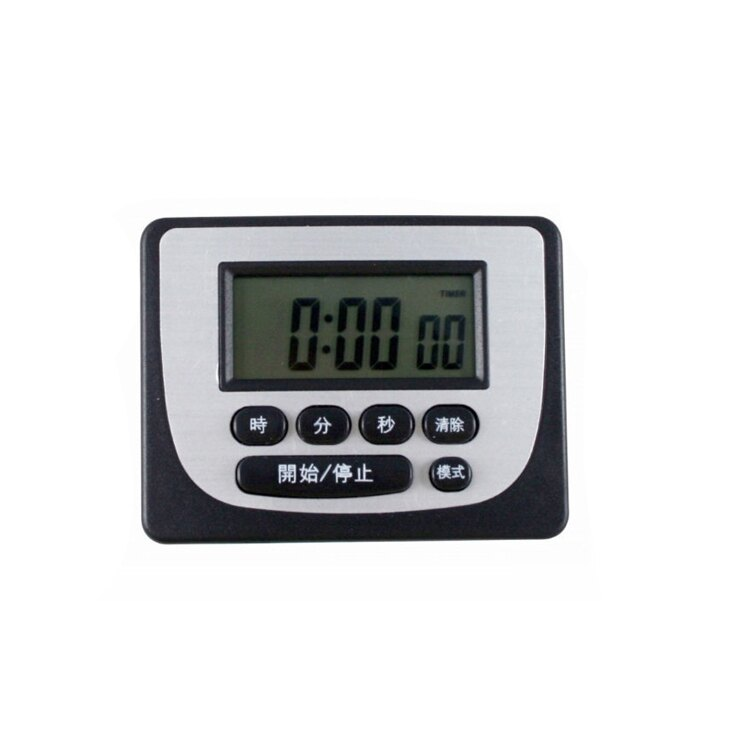 耐嘉  KINYO 電子計時器數字鐘 TC-3 電子 計時器 大螢幕 大音量 附磁鐵 廚房 正數 倒數 0