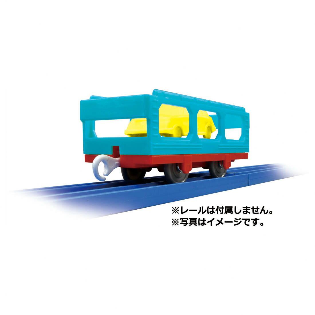 《TAKARA TOMY》PLARAIL鐵道王國 KF-10 TOMICA 運輸車  東喬精品百貨