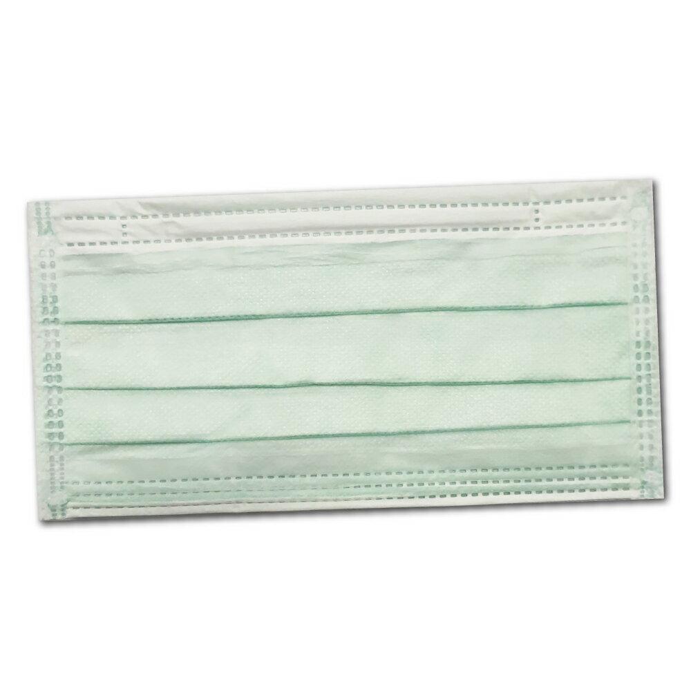 (任6盒單盒99元)宏瑋 衛生局檢驗 成人醫療口罩 (淺綠) 50入/盒 (台灣製造 CNS14774) 專品藥局【2018208】