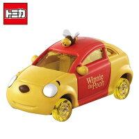 小熊維尼周邊商品推薦【日本正版】TOMICA DM-18 小熊維尼 蜂蜜車 蜂蜜輪 玩具車 多美小汽車 DISNEY MOTORS - 967576