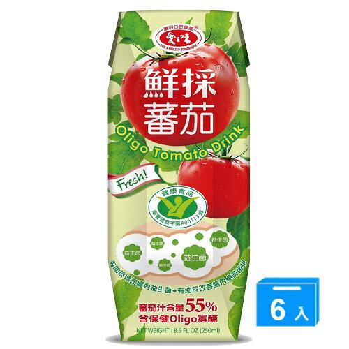 <br/><br/>  愛之味鮮採蕃茄汁(OLIGO保健)*6【愛買】<br/><br/>