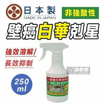 ✩白華救星✩日本壁癌白華溶解劑 250ml / 1L 去白霉 非強酸性 長效抑制再生 快速滲入牆體 強速溶解白華 現貨 油老爺快速出貨