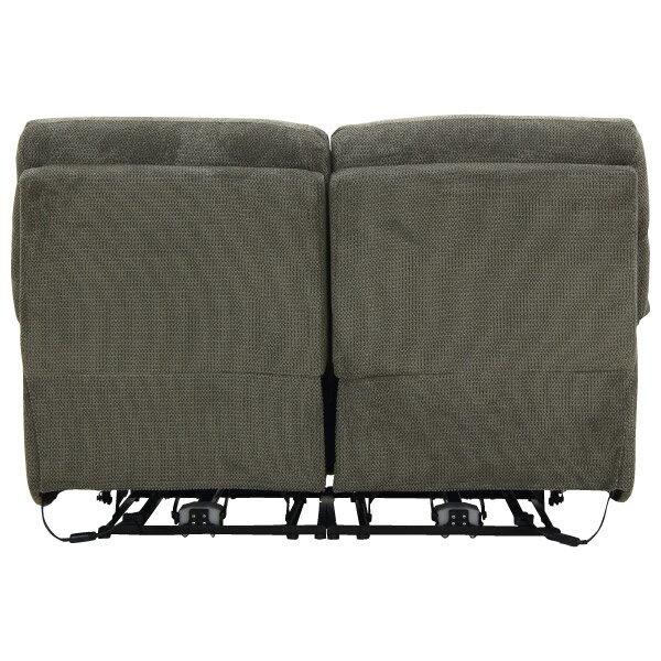 ◎布質2人用電動可躺式沙發 BELIEVER3 804 MGY NITORI宜得利家居 3