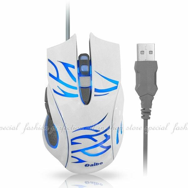 光學有線滑鼠S629閃靈魔鼠六鍵式高解析 USB有線光學滑鼠四段式CPI切換~DC294~