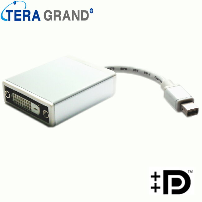 【Z-TEK】Mini Display Port to DVI 15cm (ZE-496).