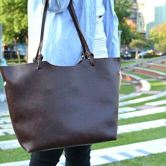 【T-HOMME x LINNATE】復古質感小清新森林系仿舊大容量休閒肩背包手提包子母購物包