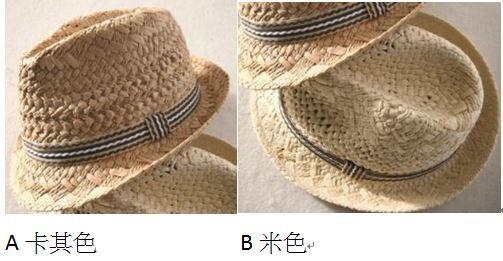 PS Mall 男童女童遮陽帽出遊帽超時尚鏤空兒童【B016】 4
