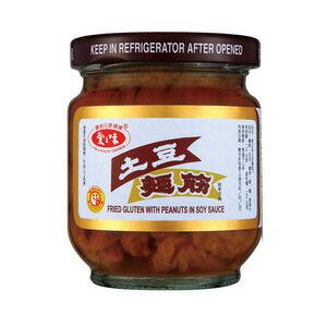 愛之味 土豆麵筋 玻璃罐 170g