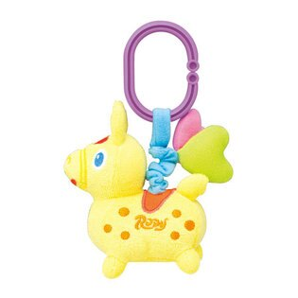 RODY跳跳馬布質推車汽座吊飾(黃色)357元【美馨兒】