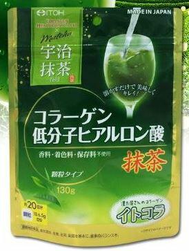膠原蛋白粉 宇治抹茶味 130g