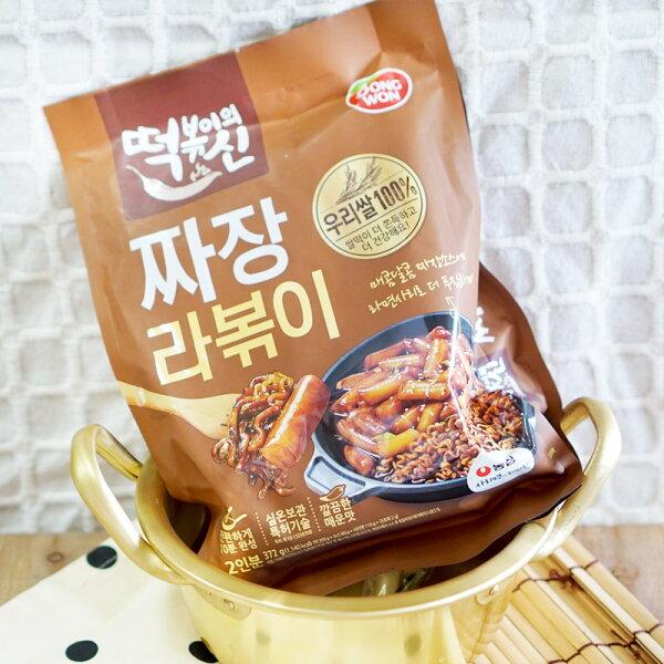 麻吉小舖:DONGWON東遠】年糕麵料理包-炸醬口味