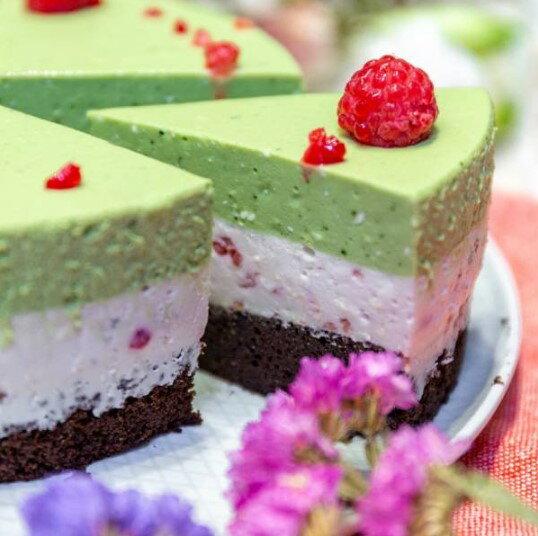 【甜野新星-甜點專賣店】母親節蛋糕 生日蛋糕〈生酮〉抹茶覆盆莓想享