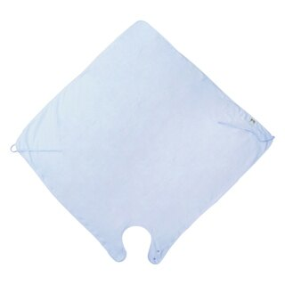 『121婦嬰用品館』PUKU 寶寶沐浴圍裙 - 藍 2