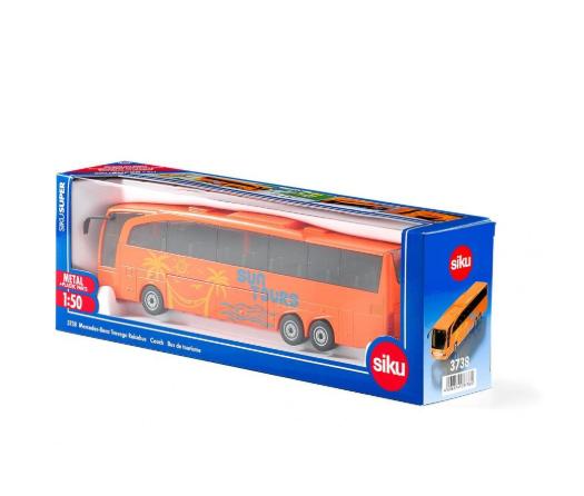 (卡司 正版現貨) 德國小汽車 SIKU 賓士遊覽車 SU3738 兒童禮物 模型車 玩具車