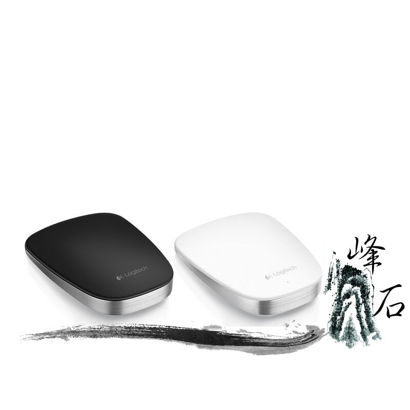 樂天限時優惠!Logitech 羅技 超薄觸控滑鼠T630 支援Windows8 白色