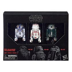 (卡司 正版現貨) 孩之寶 星際大戰 STAR WARS 黑標 6吋 機器人 R2-D2 R5-D8 R2-X2 3入組