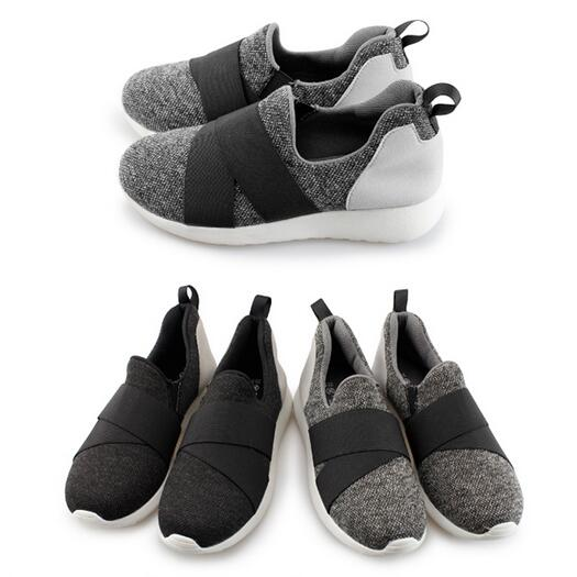 【My style】富發牌-FA108 繃帶潮流休閒懶人鞋-強力預購中- 灰.黑免運