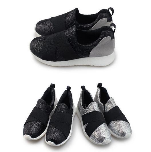 【My style】富發牌-R22 亮色繃帶休閒鞋 黑.銀,23-25號。任兩雙免運
