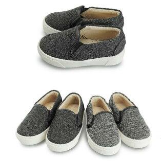 【Mystyle】富發牌-FNB32帆布懶人童鞋黑.灰,15-21號。任兩雙免運
