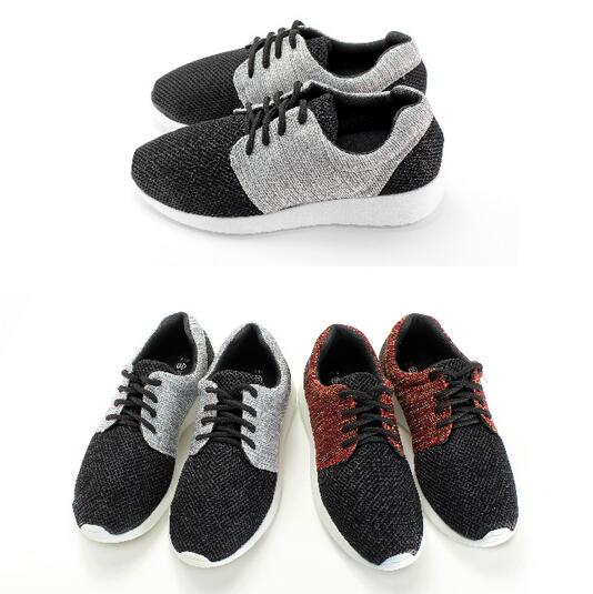 ~My style~富發牌~FL39 混織拼接慢跑鞋 黑  紅、黑  灰,23~25號~任