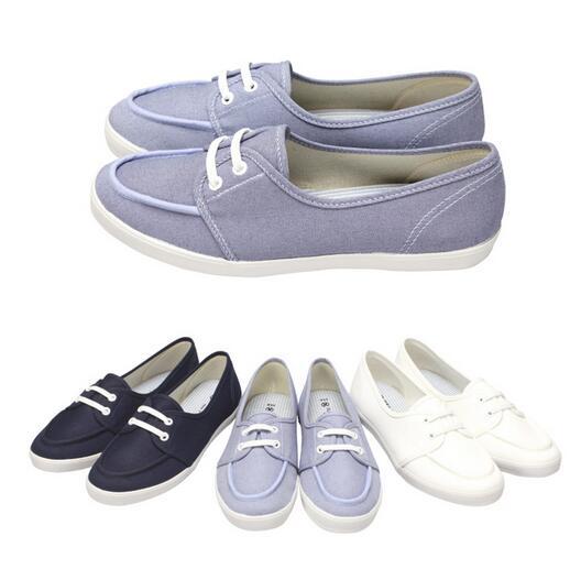 【My style】富發牌-H80 小清新休閒懶人鞋 白.深藍.水藍,23-25號。任兩雙免運