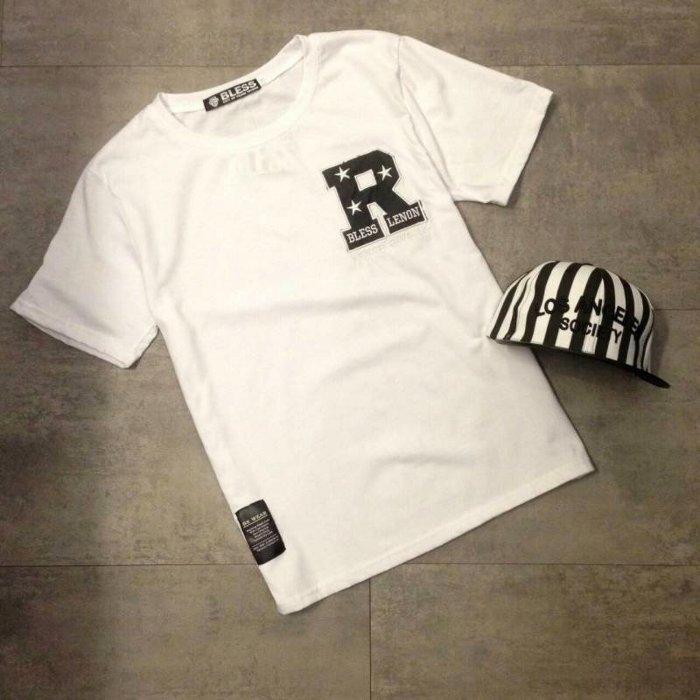 【My style】做對的事Right短袖T恤。白/黑/灰,M/L/XL