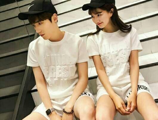 【My style】太空材質短袖T恤。白/黑,M/L/XL