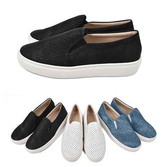 【My style】富發牌N74~刷色丹寧透氣便鞋-懶人鞋(藍.黑.白)23-25號-任兩雙免運