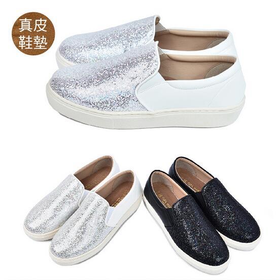 【My style】富發牌1FE104LSA~星辰煥彩便鞋-懶人鞋(藍.黑.白)23-25號-任兩雙免運