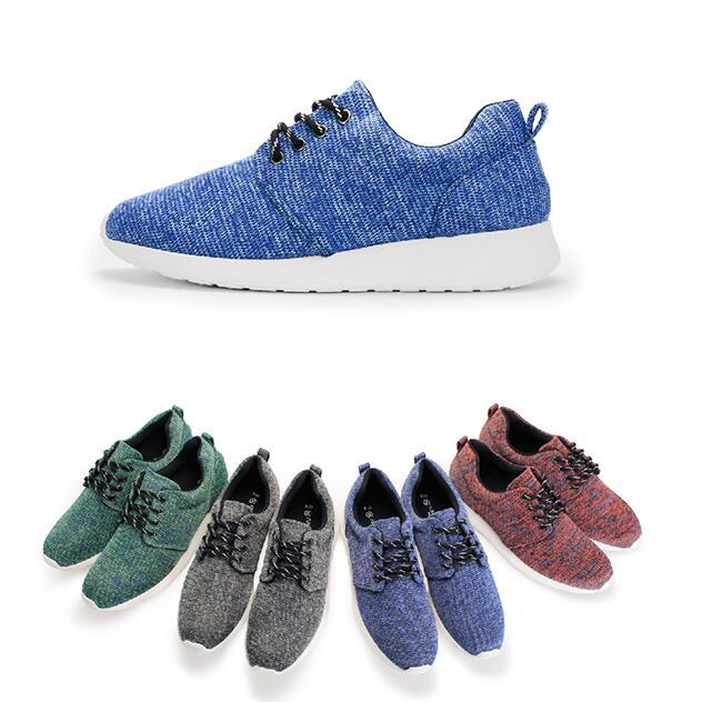 【My style】富發牌RP75~混色質感織紋慢跑鞋-男鞋(黑.紅.藍.綠)26-28號-任兩雙免運