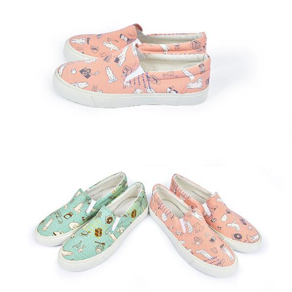 【My style】富發牌1UA02LSZ甜點時刻休閒便鞋-懶人鞋(粉.綠)23-25號-任兩雙免運