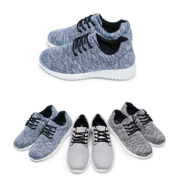 【Mystyle】富發牌1RA01WSZ刷紋質感慢跑鞋(黑.灰.藍)23-25.5號-任兩雙免運