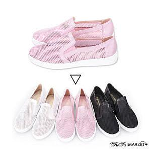 【My style】富發牌N09 透視感網格懶人鞋/任兩雙免運