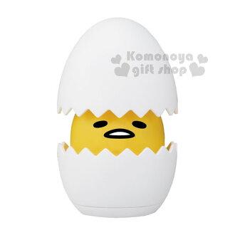 〔小禮堂〕蛋黃哥 有聲冰箱公仔《小.白.雞蛋型.感應式》TakaraTomy