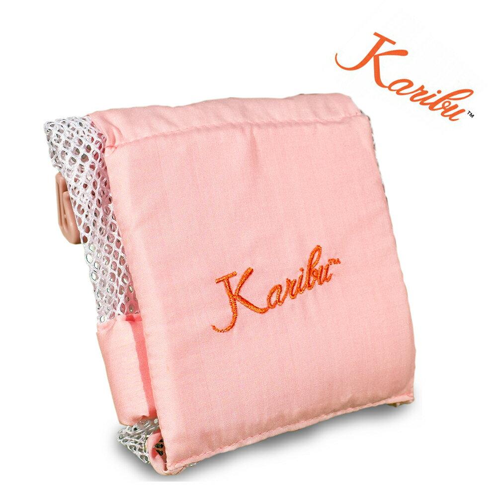 【Karibu Tubby】 嬰幼兒洗澡浴網 / 洗澡網 / 防滑浴網(粉紅色)