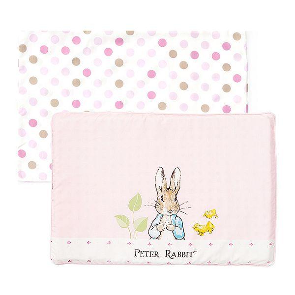 奇哥 花園比得兔 乳膠枕 / 枕頭(附枕頭套)(粉色) - 限時優惠好康折扣